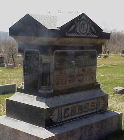 CROSS, ADELINE E. MILES - Meigs County, Ohio | ADELINE E. MILES CROSS - Ohio Gravestone Photos