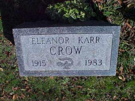 CROW, ELEANOR - Meigs County, Ohio   ELEANOR CROW - Ohio Gravestone Photos