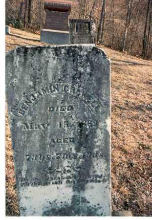 CROWELL, BENJAMIN - Meigs County, Ohio | BENJAMIN CROWELL - Ohio Gravestone Photos