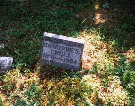 CRULL, CATHERINE S. - Meigs County, Ohio   CATHERINE S. CRULL - Ohio Gravestone Photos