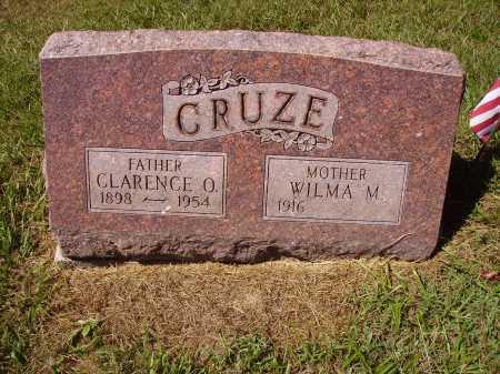 FOSTER CRUZE, WILMA M. - Meigs County, Ohio   WILMA M. FOSTER CRUZE - Ohio Gravestone Photos