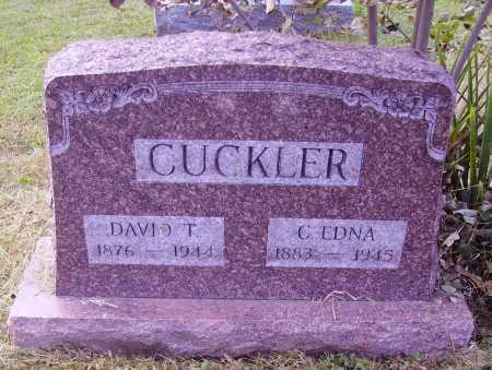 CUCKLER, C. EDNA - Meigs County, Ohio | C. EDNA CUCKLER - Ohio Gravestone Photos