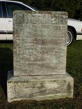 CUCKLER, JANE - Meigs County, Ohio | JANE CUCKLER - Ohio Gravestone Photos