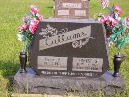 CULLUMS, SARA E. - Meigs County, Ohio | SARA E. CULLUMS - Ohio Gravestone Photos