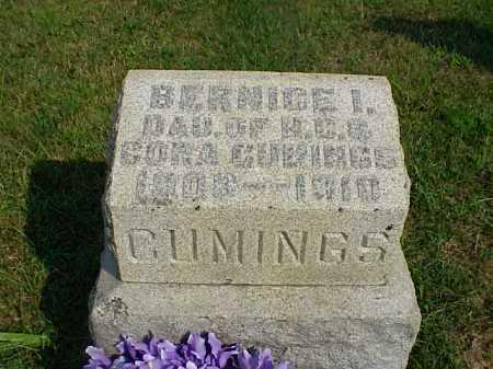 CUMINGS, BERNICE I. - Meigs County, Ohio | BERNICE I. CUMINGS - Ohio Gravestone Photos
