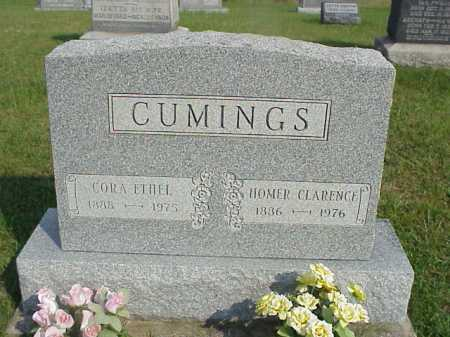 CUMINGS, HOMER CLARENCE - Meigs County, Ohio | HOMER CLARENCE CUMINGS - Ohio Gravestone Photos