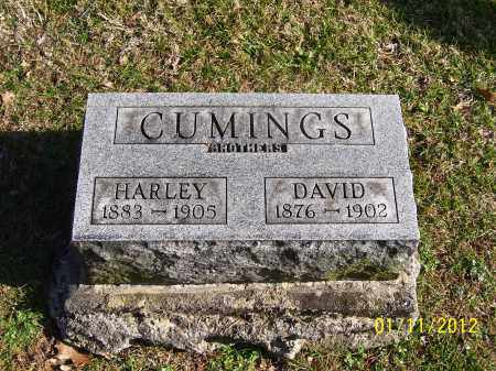 CUMINGS, HARLEY - Meigs County, Ohio   HARLEY CUMINGS - Ohio Gravestone Photos