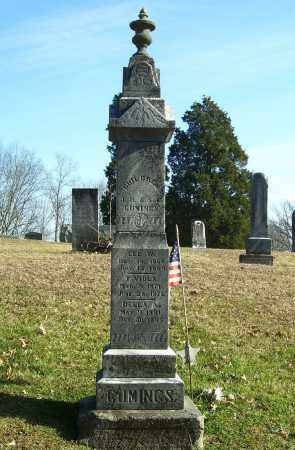 RADFORD CUMINGS, SARAH E - Meigs County, Ohio | SARAH E RADFORD CUMINGS - Ohio Gravestone Photos