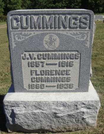 GABRIEL CUMMINGS, FLORENCE - Meigs County, Ohio   FLORENCE GABRIEL CUMMINGS - Ohio Gravestone Photos