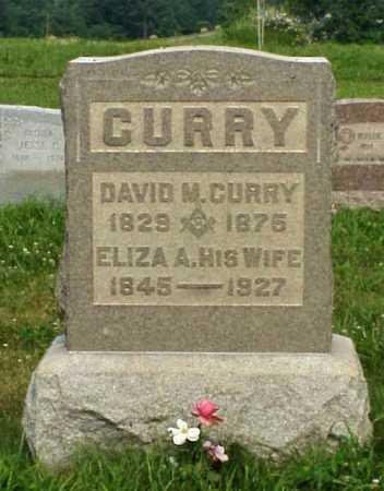 CURRY, DAVID M. - Meigs County, Ohio | DAVID M. CURRY - Ohio Gravestone Photos