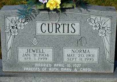 CURTIS, JEWELL - Meigs County, Ohio | JEWELL CURTIS - Ohio Gravestone Photos