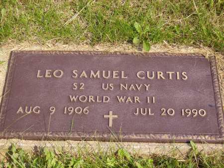 CURTIS, LEO SAMUEL - Meigs County, Ohio   LEO SAMUEL CURTIS - Ohio Gravestone Photos