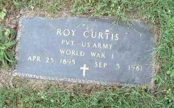 CURTIS, ROY - Meigs County, Ohio | ROY CURTIS - Ohio Gravestone Photos