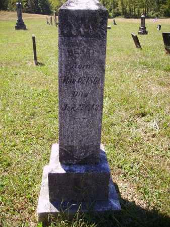 CUTRIGHT, HENRY - Meigs County, Ohio   HENRY CUTRIGHT - Ohio Gravestone Photos