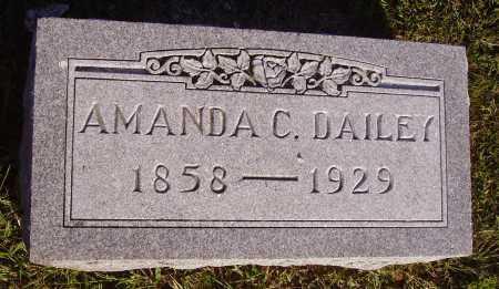 DAILEY, AMANDA C. - Meigs County, Ohio | AMANDA C. DAILEY - Ohio Gravestone Photos