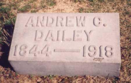DAILEY, ANDREW C. - Meigs County, Ohio | ANDREW C. DAILEY - Ohio Gravestone Photos