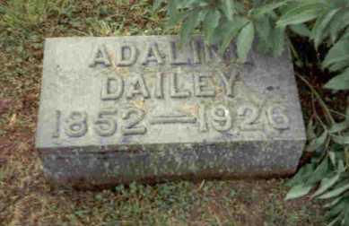 DAILEY, ADALINE - Meigs County, Ohio | ADALINE DAILEY - Ohio Gravestone Photos