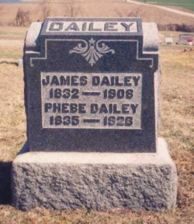 DAILEY, JAMES - Meigs County, Ohio | JAMES DAILEY - Ohio Gravestone Photos
