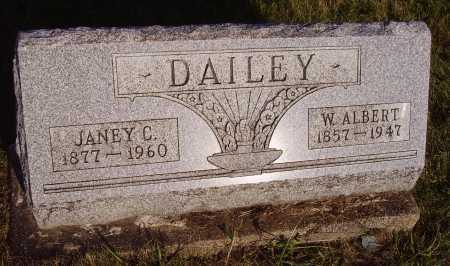 DAILEY, JANEY C. - Meigs County, Ohio | JANEY C. DAILEY - Ohio Gravestone Photos