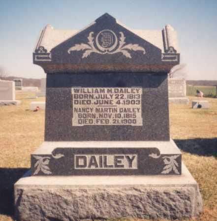 MARTIN DAILEY, NANCY - Meigs County, Ohio   NANCY MARTIN DAILEY - Ohio Gravestone Photos