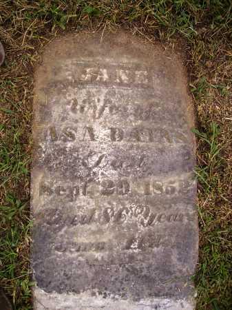 DAINS, JANE - Meigs County, Ohio | JANE DAINS - Ohio Gravestone Photos