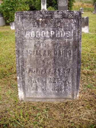 DAINS, RODOLPHUS - Meigs County, Ohio | RODOLPHUS DAINS - Ohio Gravestone Photos