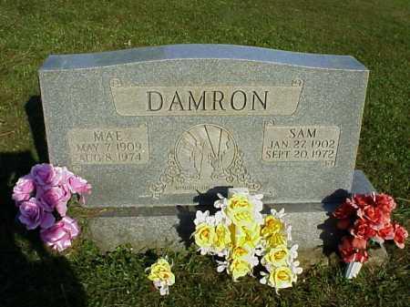 DAMRON, SAM - Meigs County, Ohio | SAM DAMRON - Ohio Gravestone Photos
