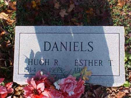DANIELS, ESTHER T. - Meigs County, Ohio | ESTHER T. DANIELS - Ohio Gravestone Photos