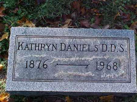 DANIELS, KATHRYN, D.D.S. - Meigs County, Ohio | KATHRYN, D.D.S. DANIELS - Ohio Gravestone Photos