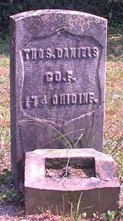 DANIELS, THOS. - Meigs County, Ohio | THOS. DANIELS - Ohio Gravestone Photos