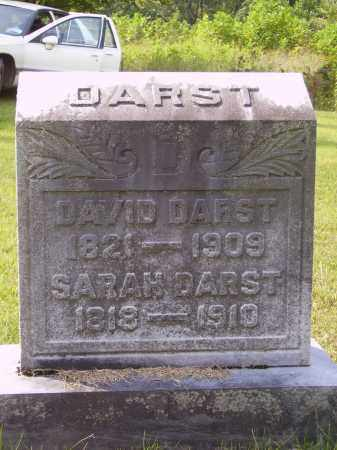 DARST, DAVID - Meigs County, Ohio | DAVID DARST - Ohio Gravestone Photos