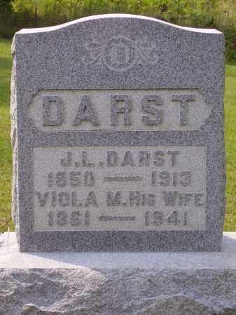 DARST, JERRY L. - Meigs County, Ohio | JERRY L. DARST - Ohio Gravestone Photos