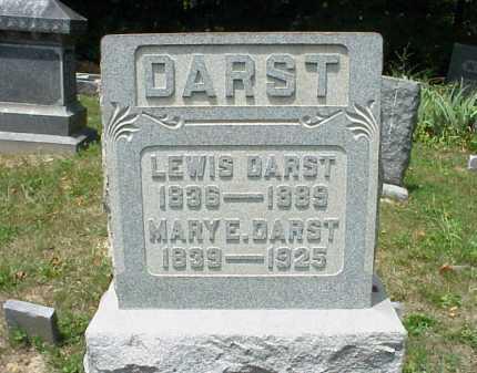 DARST, MARY E. - Meigs County, Ohio   MARY E. DARST - Ohio Gravestone Photos