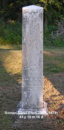 DARST, ROMAN - Meigs County, Ohio | ROMAN DARST - Ohio Gravestone Photos