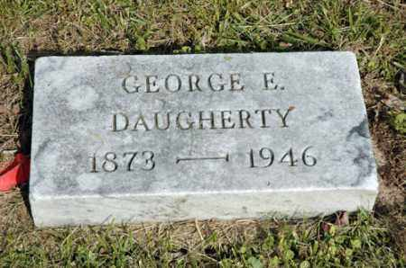 DAUGHERTY, GEORGE E. - Meigs County, Ohio | GEORGE E. DAUGHERTY - Ohio Gravestone Photos