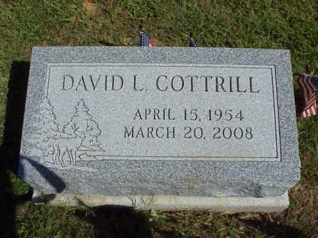 DAVID L., COTTRILL - Meigs County, Ohio | COTTRILL DAVID L. - Ohio Gravestone Photos