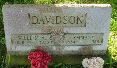 DAVIDSON, WILLIAM A. - Meigs County, Ohio | WILLIAM A. DAVIDSON - Ohio Gravestone Photos