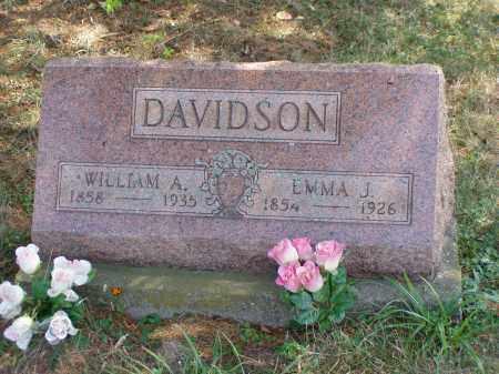 DAVIDSON, EMMA J. - Meigs County, Ohio | EMMA J. DAVIDSON - Ohio Gravestone Photos