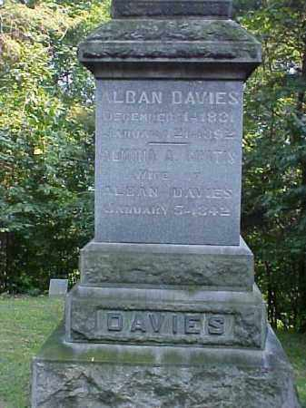 DAVIES, ALBAN - Meigs County, Ohio | ALBAN DAVIES - Ohio Gravestone Photos