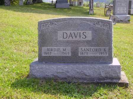 DAVIS, SANFORD K. - Meigs County, Ohio | SANFORD K. DAVIS - Ohio Gravestone Photos