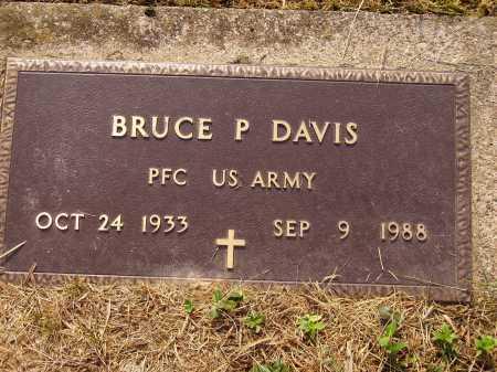 DAVIS, BRUCE P. - Meigs County, Ohio | BRUCE P. DAVIS - Ohio Gravestone Photos