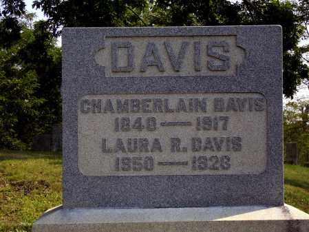 DAVIS, CHAMBERLAIN - Meigs County, Ohio | CHAMBERLAIN DAVIS - Ohio Gravestone Photos