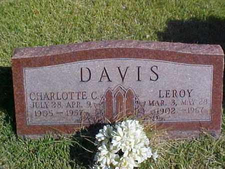 DAVIS, CHARLOTTE C. - Meigs County, Ohio   CHARLOTTE C. DAVIS - Ohio Gravestone Photos