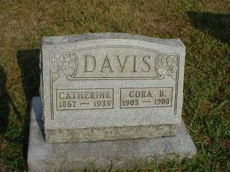 DAVIS, CORA B. - Meigs County, Ohio   CORA B. DAVIS - Ohio Gravestone Photos