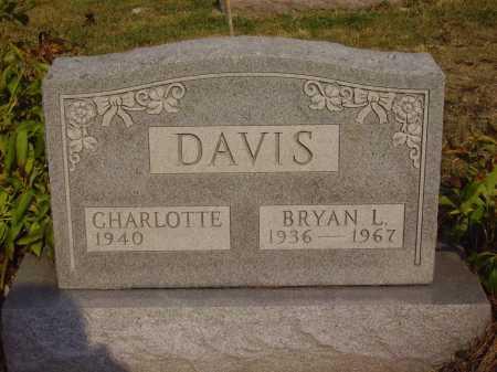 DAVIS, BRYAN L. - Meigs County, Ohio | BRYAN L. DAVIS - Ohio Gravestone Photos
