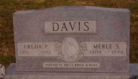 DAVIS, MERLE SMITH - Meigs County, Ohio | MERLE SMITH DAVIS - Ohio Gravestone Photos