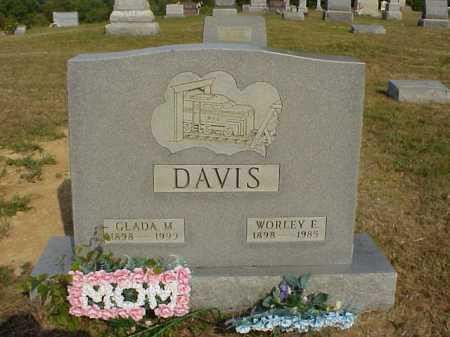 DAVIS, WORLEY E. - Meigs County, Ohio | WORLEY E. DAVIS - Ohio Gravestone Photos