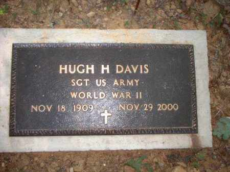 DAVIS, HUGH H. - Meigs County, Ohio | HUGH H. DAVIS - Ohio Gravestone Photos