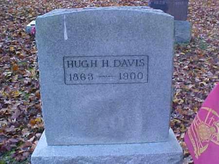 DAVIS, HUGH H. - Meigs County, Ohio | HUGH H. DAVIS - Ohio Gravestone Photos