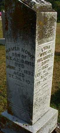 DAVIS, LYDIA - Meigs County, Ohio | LYDIA DAVIS - Ohio Gravestone Photos